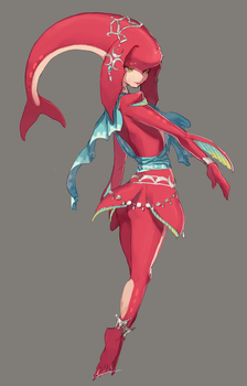 Mipha by ZAMBllE