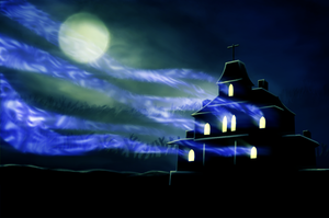 Spooky's House of Jump Scares Wallpaper by StylishKira
