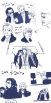 The Hobbit Au-sketches  by yuminica