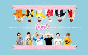 Exo Cute Wallpaper by KpopGurl