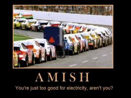 Demotivational: Amish by xxSomethingWicked