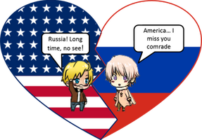 RusAme Mended Shimeji Heart by LadyAxis