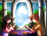 Request for uchiha-pushiha - Pasta For Two by stealthclaw96