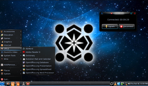 Netbook Theme-Warring Factions by technokoopa