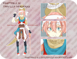 [CLOSED] Adoptable 12: Traveler Kangaroo by Serendipiter