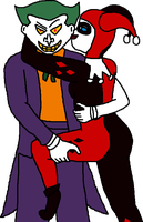 Joker and Harley by whassup86