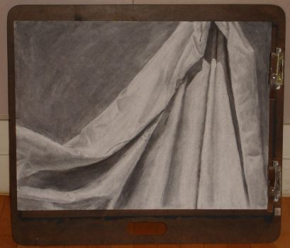 Cloth Charcoal by yoursecretkeeper
