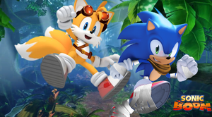 Sonic Boom Sonic and Tails Wallpaper by Silverdahedgehog06
