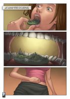 Tiny City becomes Snack for this Giantess (vore) by giantess-fan-comics