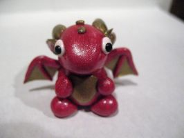 Magenta Heart Dragon (Updated) by drakeo1903