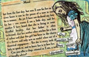 Go Ask Alice 2 -- ATC by LauraTringaliHolmes