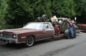 Redneck Flatbed by indigohippie