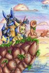 Pokemon Dungeon Team Hedgecat by mmishee
