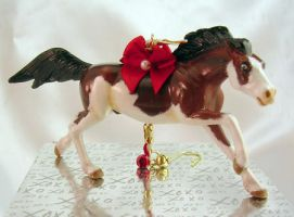 Mustang Christmas Ornament by Tephra76