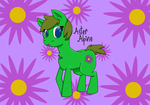 MLP OC - Aster Alpine by uhnevermind