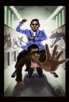 Psy vs Latino by ThiagoArvore