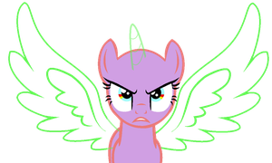 MLP Base: Super Fierce Face by pinay4life001