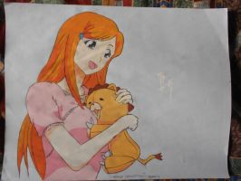 Kon x Orihime (FINISHED) by master-cartoonist