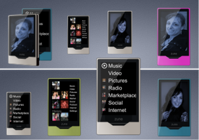 10 Zune hd icons by zman3
