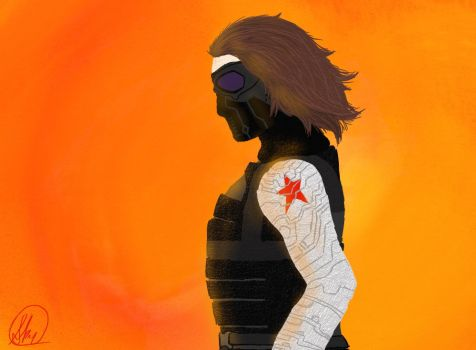 The Winter Soldier by thewinterartist