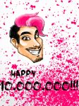 Happy 10,000,000, Markimoo! by ParasiticStudioArt