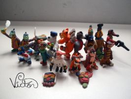 Crash Bandicoot villains by VictorCustomizer