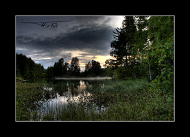 Nordre Spro in Hdr II... by OrisTheDog