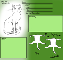 Male Warrior Cat Base by CalicoKitties