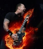 Jamez Smokin Hot Guitar by TL-Designz