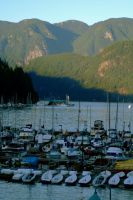 Deep Cove Harbor Two by WestSideofMidnight