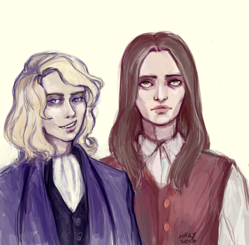 Lestat x Louis by MortistRay
