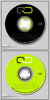 QD Studios CD Label by qdstudios
