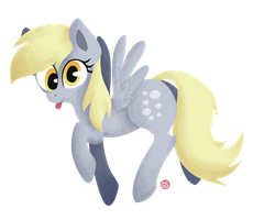 Derpy Hooves by Gingersnaap