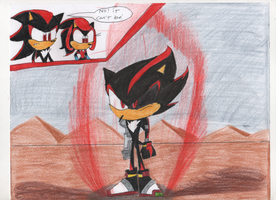 Nuka the Hedgehog (Shadow's Long Lost Brother) by sonic4ever760
