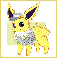 Jolteon the Messenger by Uluri
