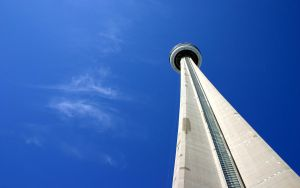 Head up to the CN Tower by AndrewToPhotography