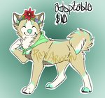. Shibe Adoptable by X-Firefly