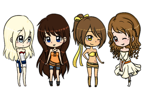 .:B-Day Gifts:. Blushies Chibi by CIAE13
