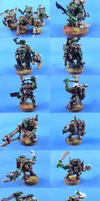 Ork Kommandos by madhouse-exe