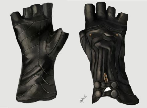 Gloves by abeermalik