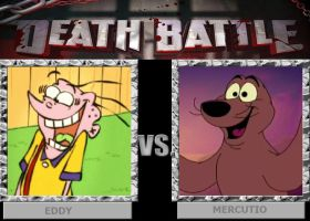 DEATH BATTLE: Eddy vs Mercutio by HunterxColleen