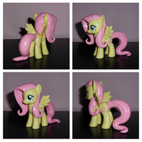 Show-Accurate Mane and Tail Sculpt Fluttershy V.2 by UniqueTreats