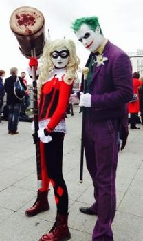 Joker and harley quinn by rew-mysterio