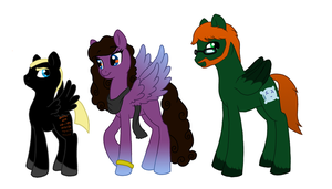 MLP: Friends and family! by Kayla-san