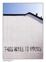 8234 - This wall is yours by bupo