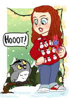 owlssayhooot - Kayley Hyde by AninhaT-T