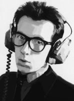 Elvis Costello by All-Punk-Cons