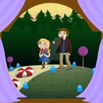 Hansel and Gretel: find the house by KaLixel