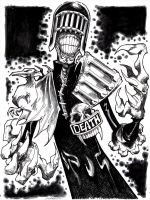 Judge Death by misfitcorner