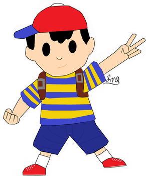 Ness by The-Observant-Nerd